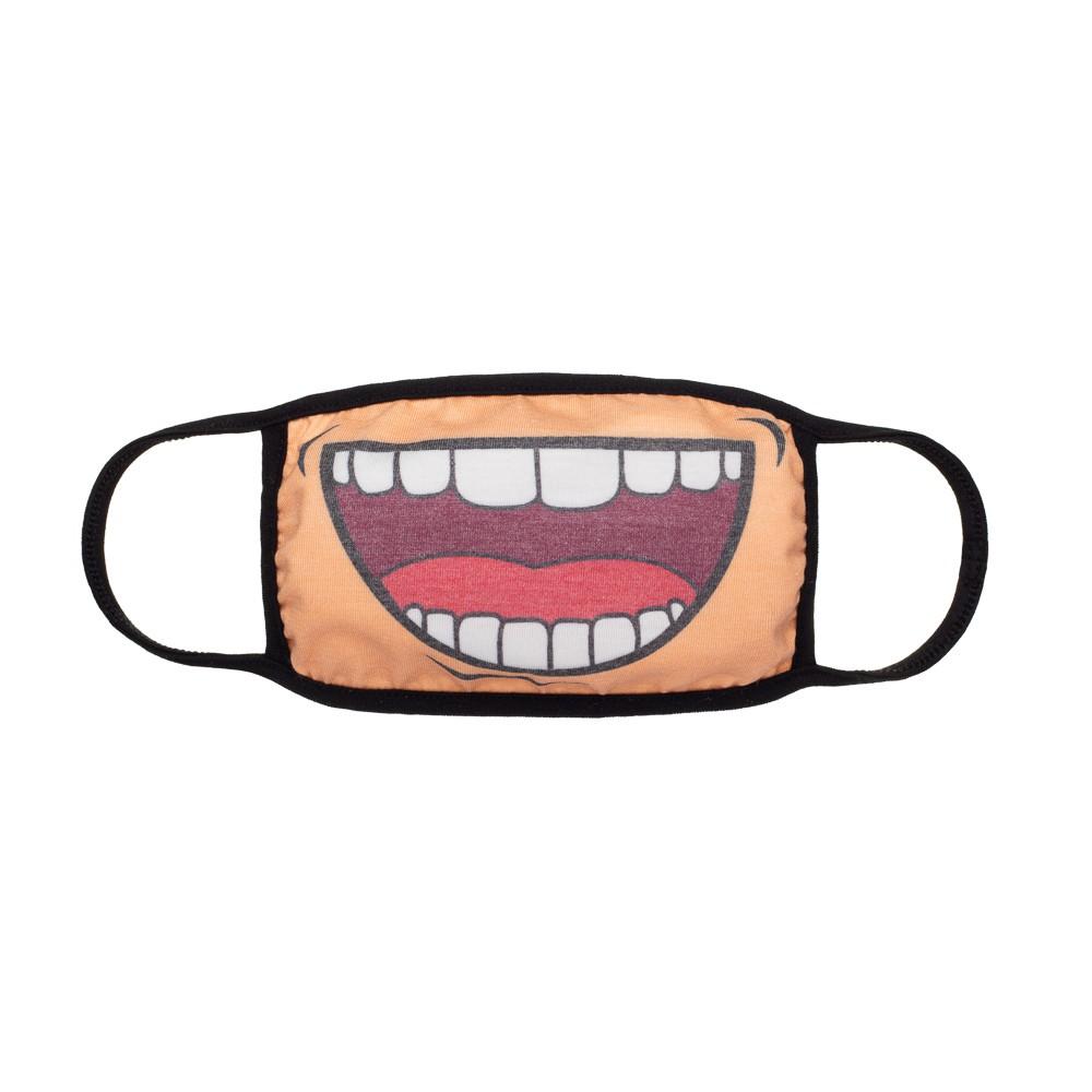 Máscara Protetora Divertida Infantil Risadona
