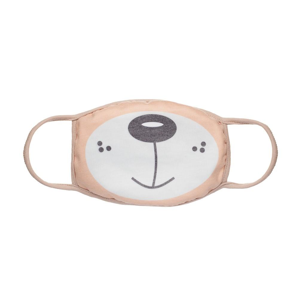 Máscara Protetora Divertida Infantil Ursinho