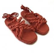 Sandália flatform colors