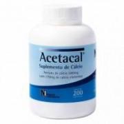 Acetacal 200 Comprimidos