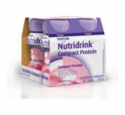 Nutridrink Compact Protein Kit Com 4 125Ml Morango
