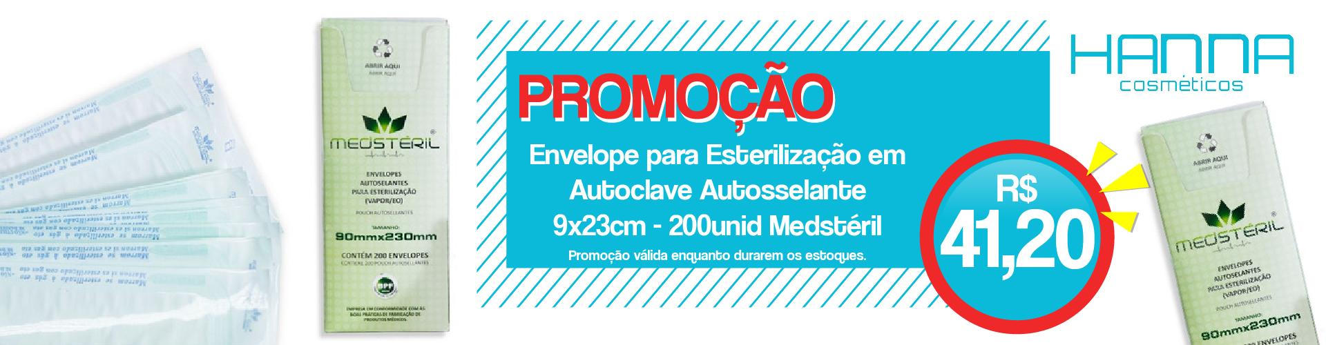 Promoção Envelope Esterilização