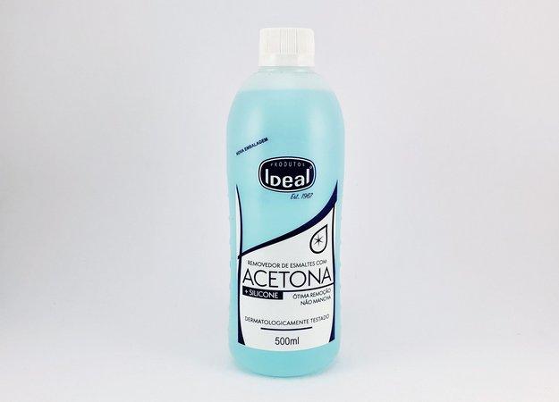 Acetona Ideal  500ml - Removedor de Esmalte