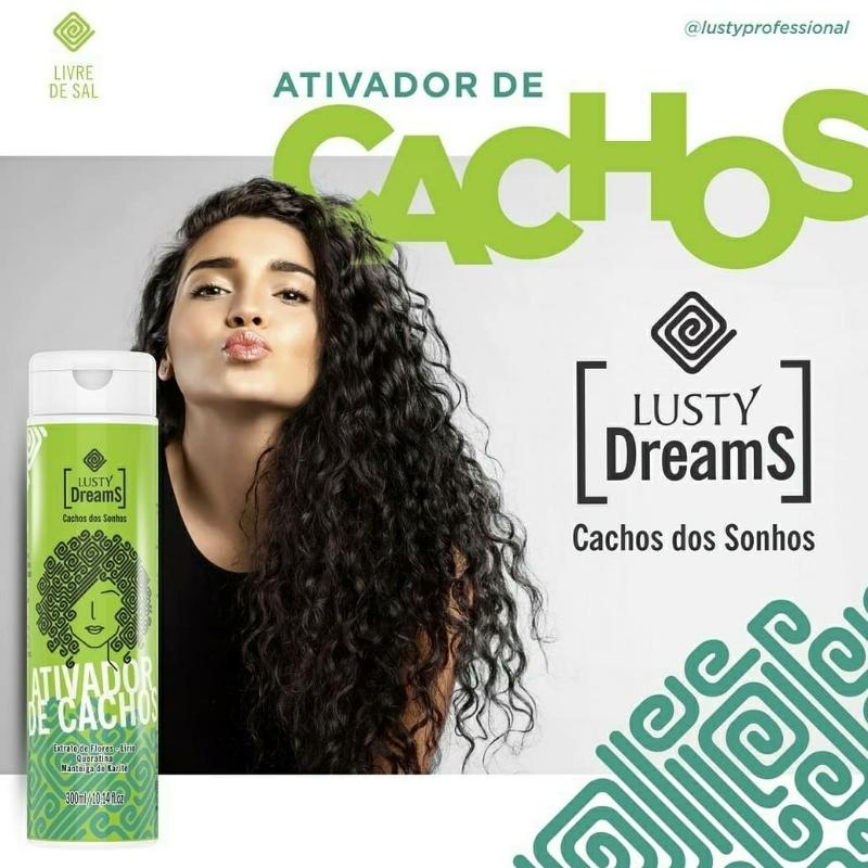 Ativador Cachos Lusty Dreams 300ml