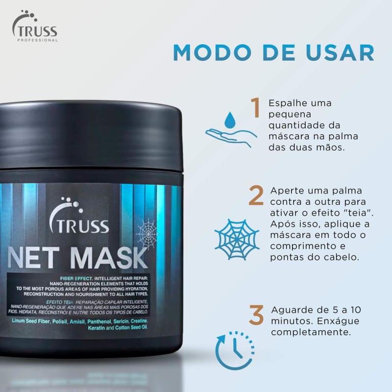 CÓPIA ML11 - Truss Net Mask 550g - Máscara de Tratamento
