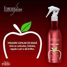 Forever Liss Vinagre De Maça Selagem Capilar  300ml