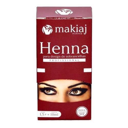 Henna para Sombrancelha Makiaj - Alta Fixação