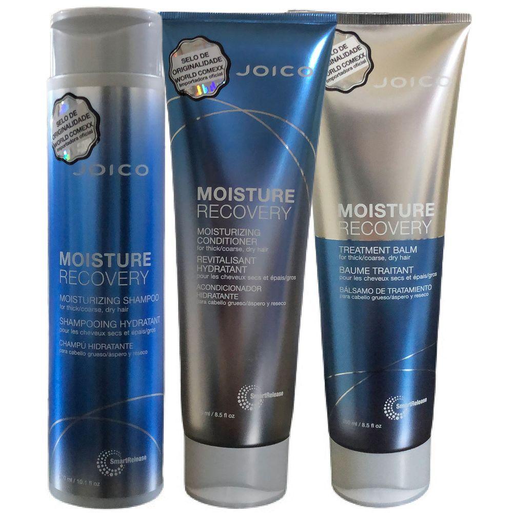 Joico Moisture Recovery - Kit 3 produtos