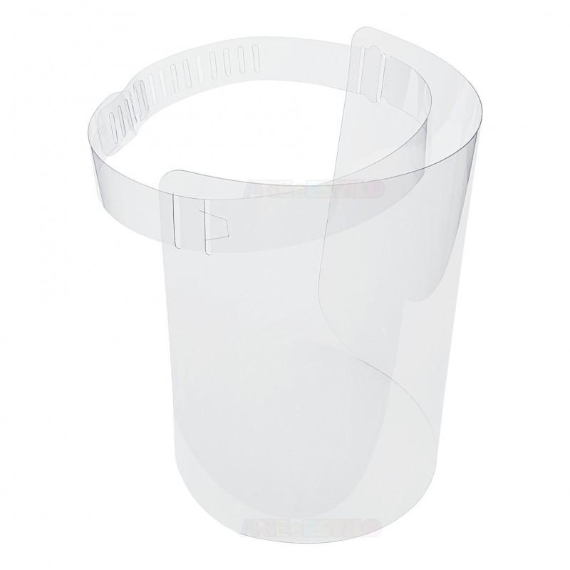 Kit com 10 Viseiras Plásticas - Protetor Facial