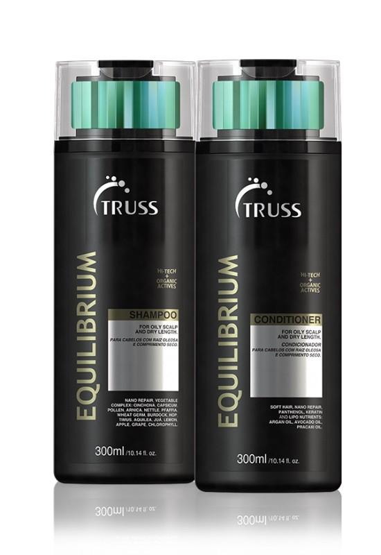 Truss - Kit Equilibrium Shampoo 300ml + Condicionador 300ml