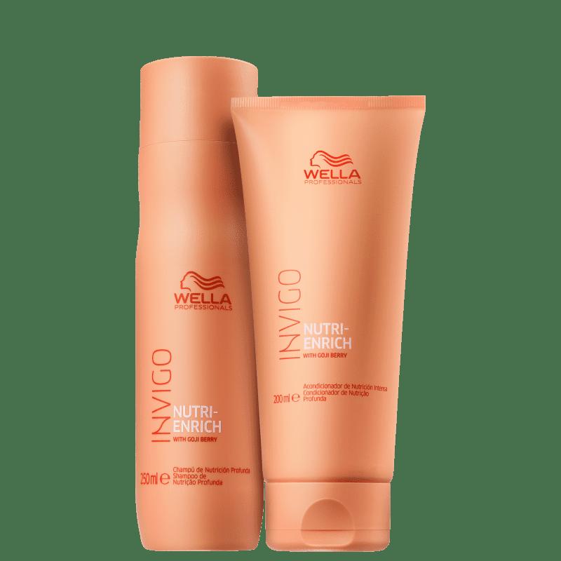 Wella Nutri Enrich - Kit Shampoo +  Condicionador