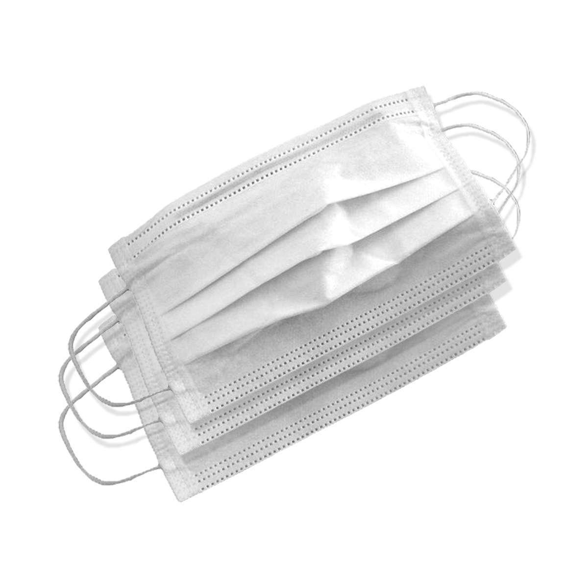 Mascara Tripla com Elástico e Clip  Nasal - 500 unidades