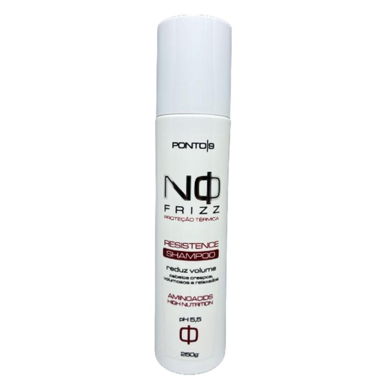 No Frizz Shampoo 250ml - Ponto 9 - Cabelos Crespos