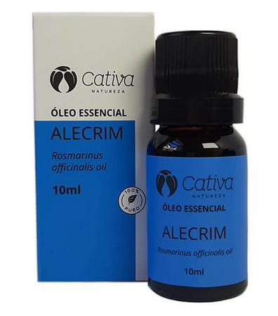 Óleo Essencial Alecrim 10ml - Cativa Natureza