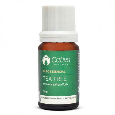 Óleo Essencial Tea Tree (Melaleuca) 10ml - Cativa Natureza