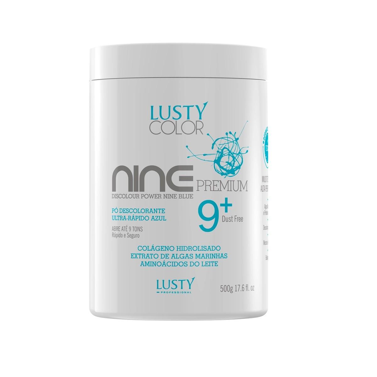 Pó Descolorante Lusty - Ultra Rápido Nine Premium - 500 g