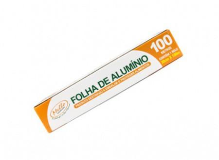 Rolo de Papel Aluminio Mello 30x100