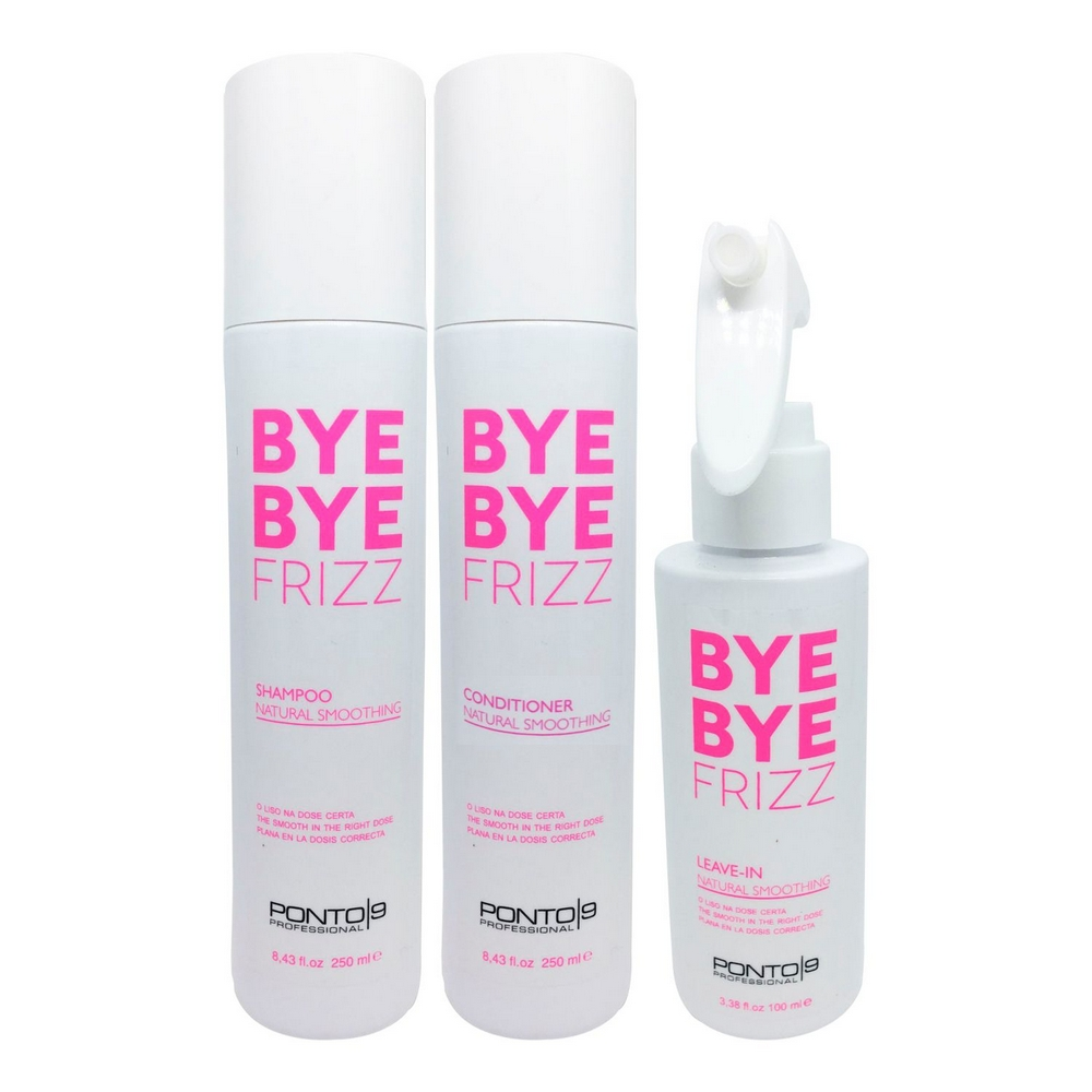 Shampoo + Condicionador +Leave-In Bye Bye Frizz - Ponto 9