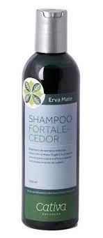 Shampoo Fortalecedor Erva Mate 240ml - Cativa Natureza