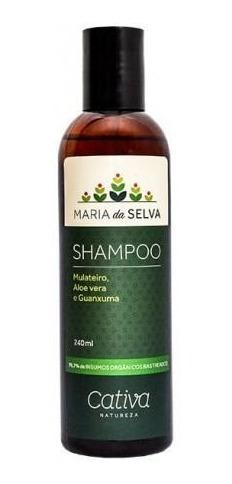Shampoo Maria da Selva 240ml - Cativa Natureza