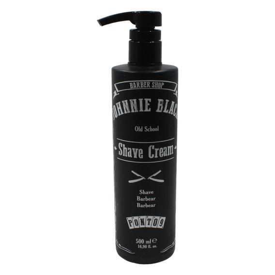Shave Cream Profissional 500ml - Johnnie Black