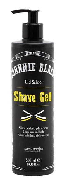 Shave Gel Profissional 500ml - Johnnie Black