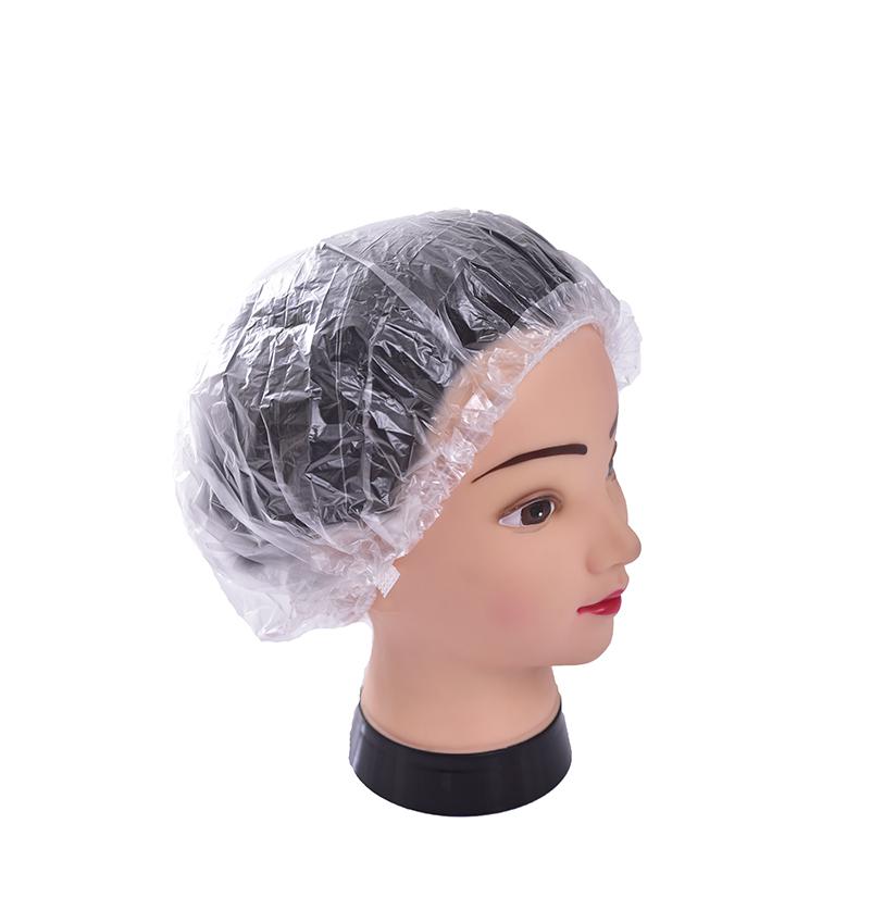 Touca Plástica Banho Descartável - Kit 10 pac. (500 Toucas)