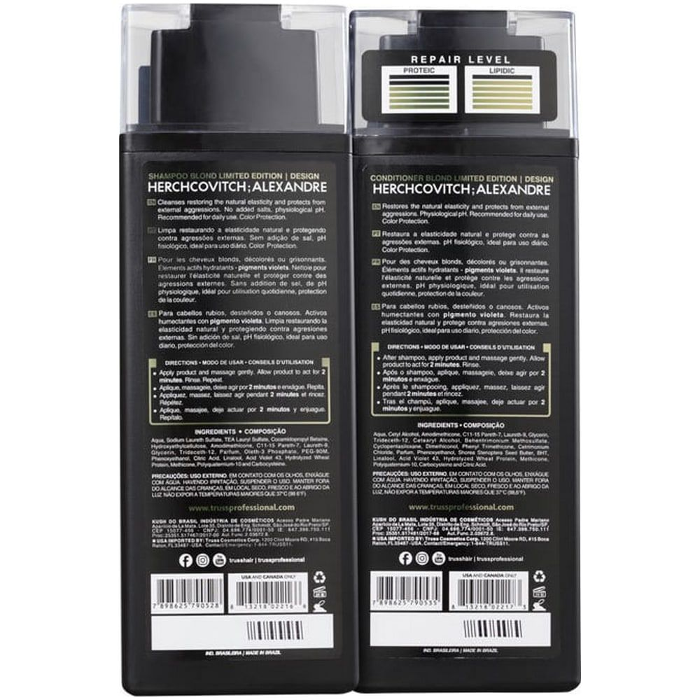 Truss Kit Shampoo + Condicionador Blond 300ml