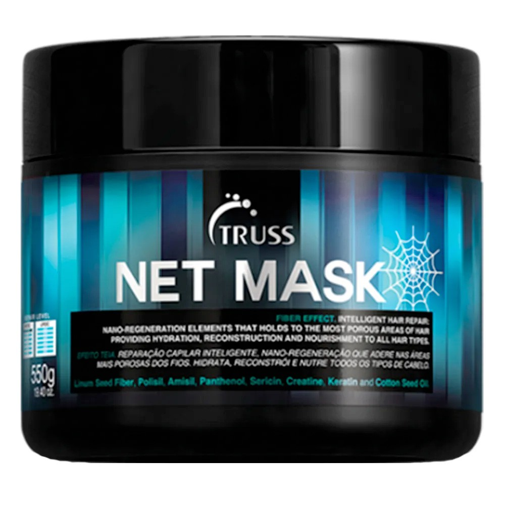 Truss Net Mask 550g - Máscara de Tratamento