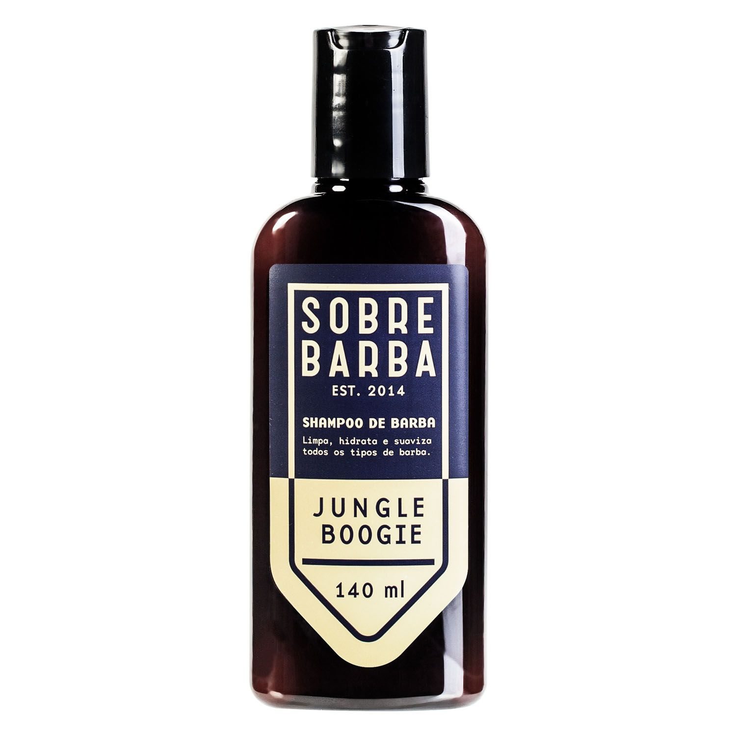 SHAMPOO DE BARBA SOBRE BARBA JUNGLE BOOGIE 140ml