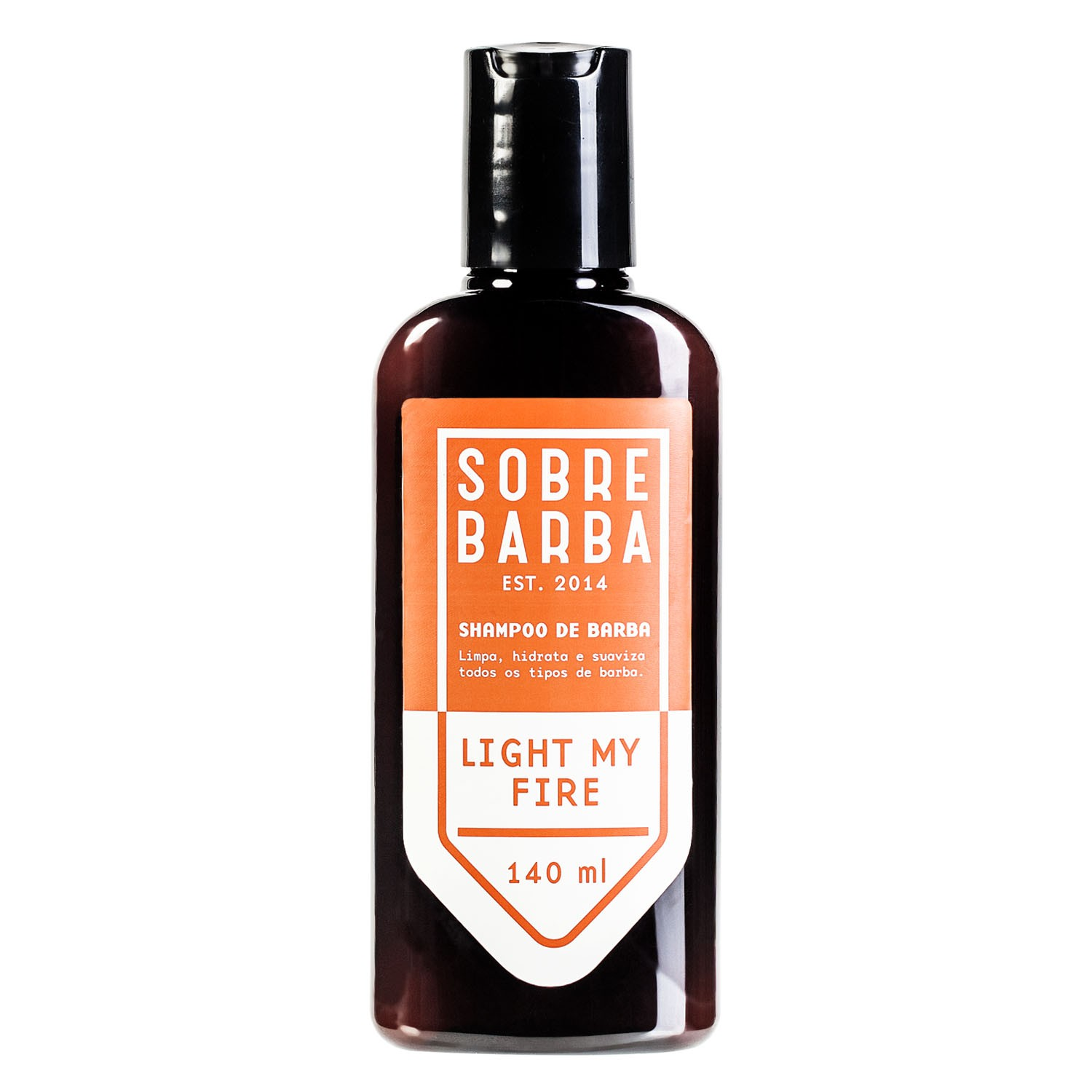 Shampoo de Barba Sobre Barba light my Fire 140ml