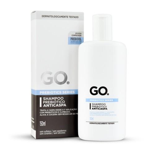 Shampoo Prebiótico Anticaspa Go.