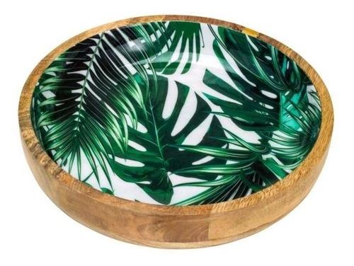 Bowl De Madeira Leafage 26cm