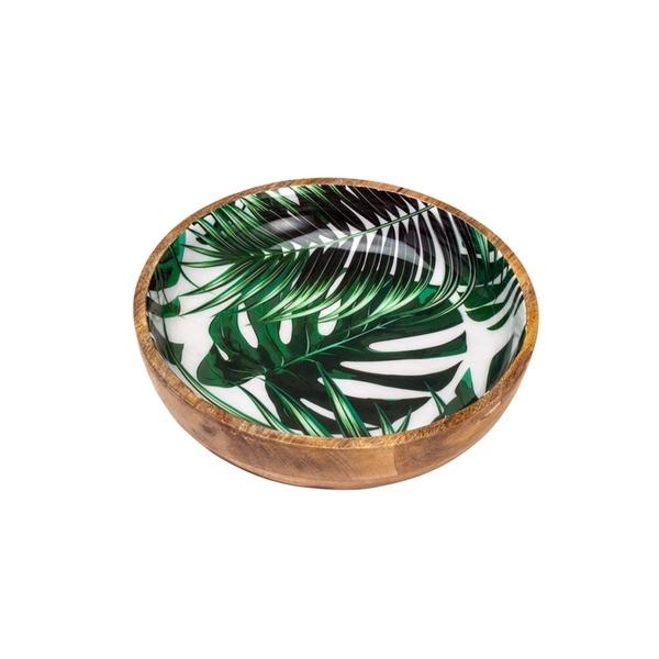 Bowl De Madeira Leafage