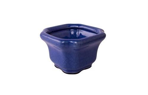 Cachepot Quadrado Azul P