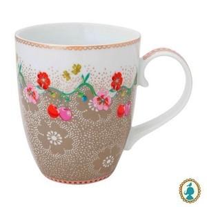 Caneca G Caqui Floral Pip Studio Cada