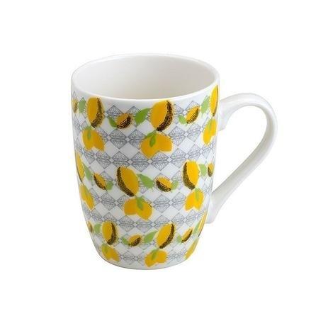 Caneca Porcelana Lemons Juice