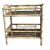 Carrinho de Chá Bambu Natural