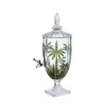 Dispenser Cristal Palm Tree Verde 04L