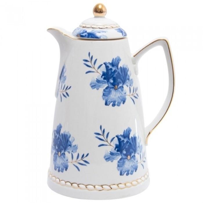 Garrafa Térmica Porcelana Floral