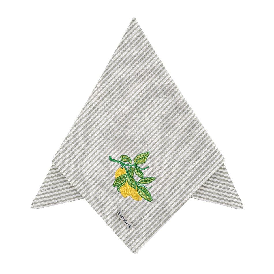 Guardanapo Bordado Limão