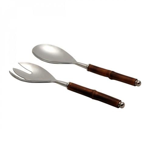Jogo 02 Peças Pra Servir Bamboo