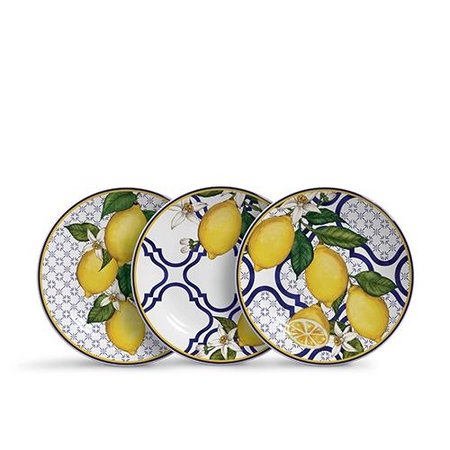 Jogo 06 Pratos De Sobremesa Sicilia
