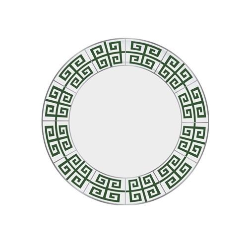 Jogo 06 Pratos Rasos Atenas Verde
