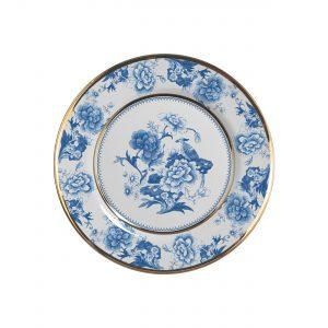Jogo 06 Pratos Sobremesa Chinese Blue