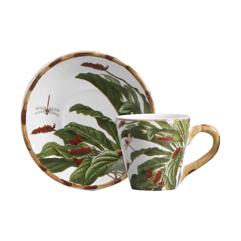 Jogo 06 Xícaras de Chá Amazônia