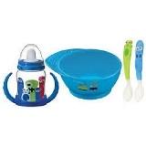 Kit 4 Pecas Monster Baby