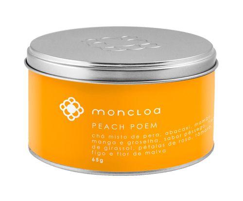 Peach Poem Lata 65g Chá