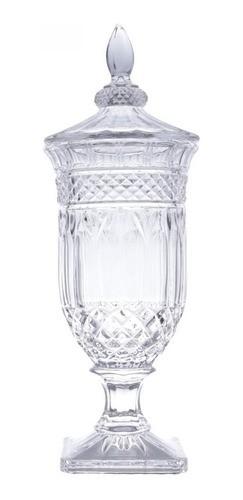 Potiche Decorativo Cristal 47cm