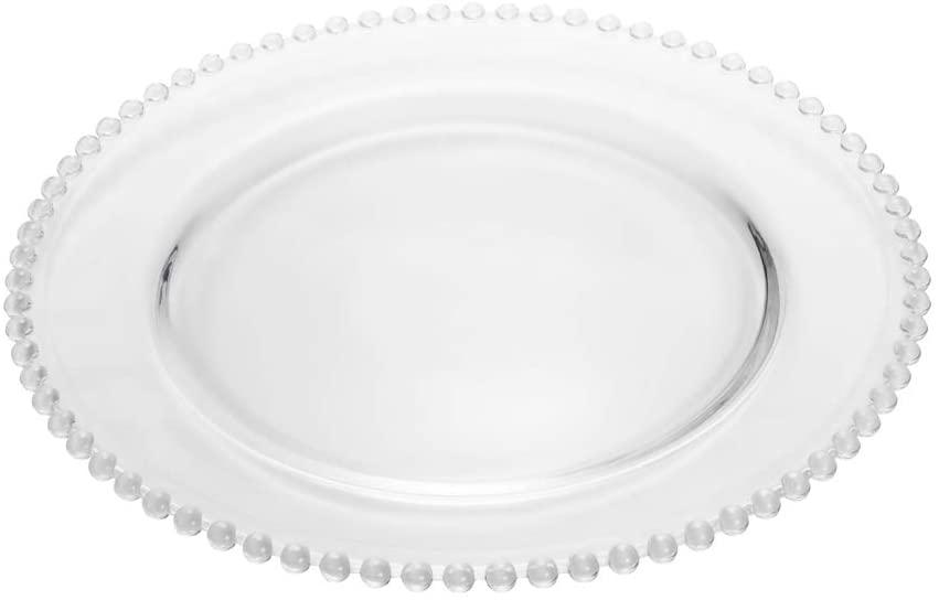 Prato Cristal Pearl 27cm Unid